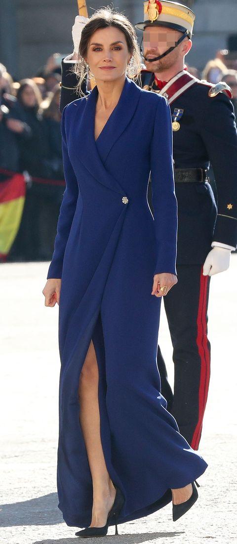 Reina Letizia Pascua Militar Felipe Varela 2020 2019
