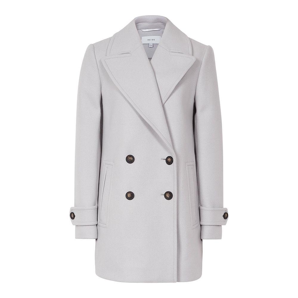 Reiss grey coat
