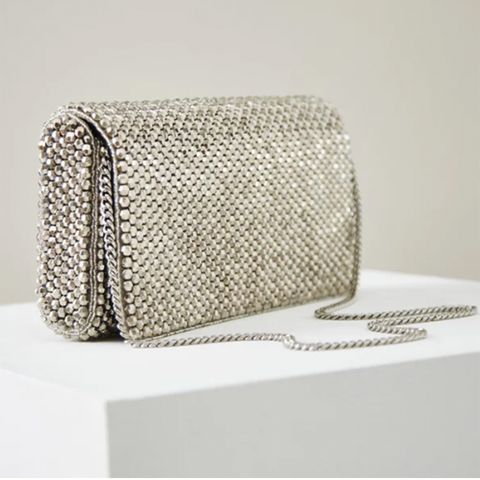 Reiss Embellished Clutch Bag