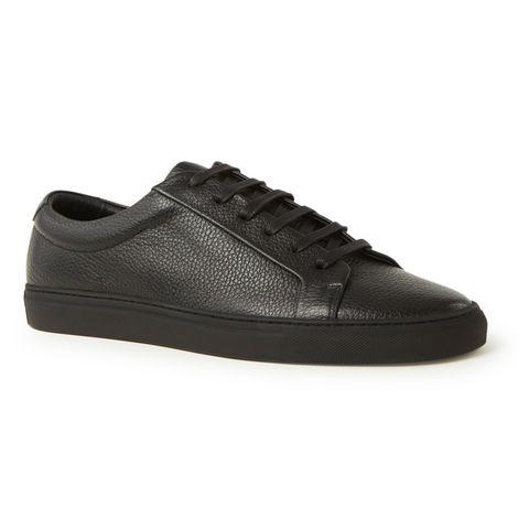 reiss luca zwarte sneaker heren