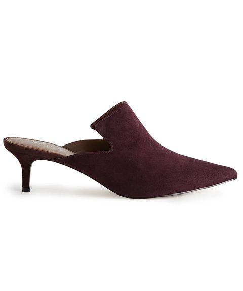 Reiss Astral Suede Mules