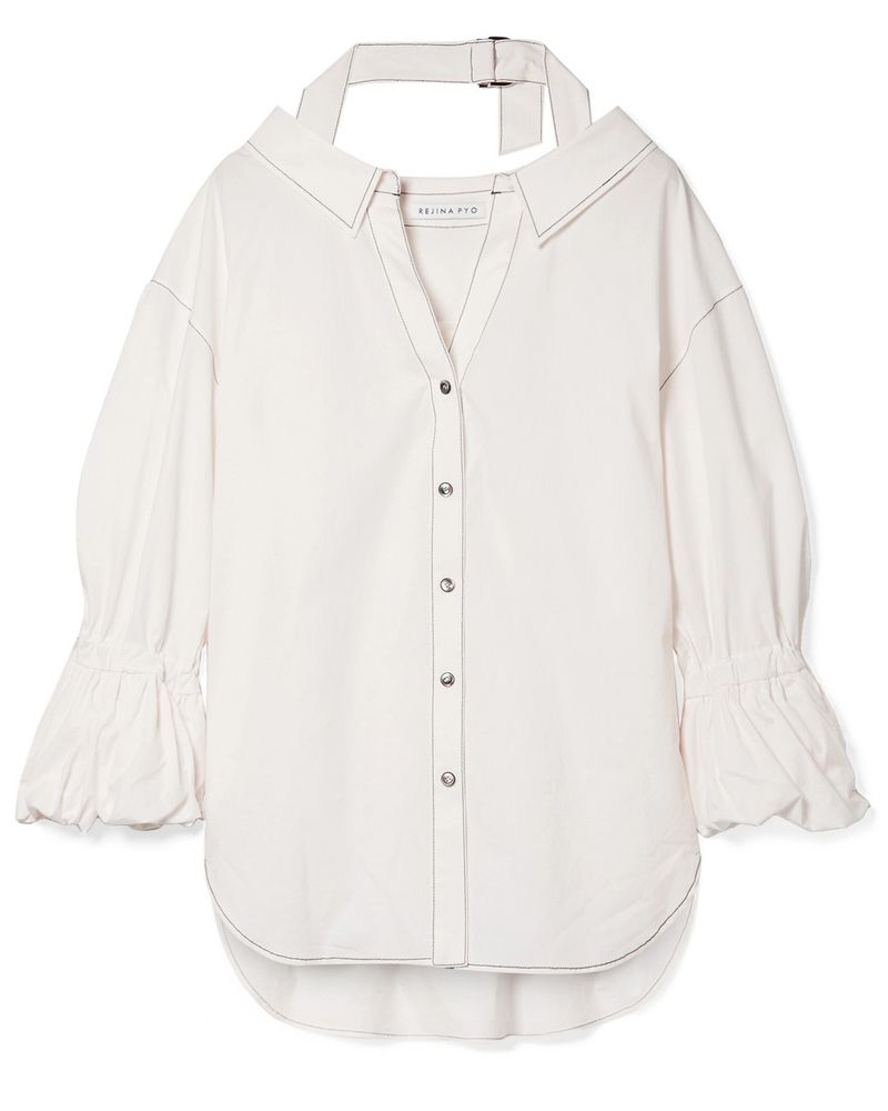 Rejina Pyo white shirt meghan markle