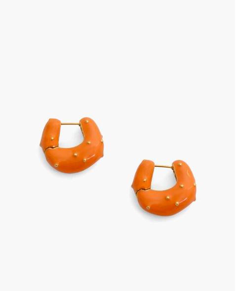 orecchini fluo