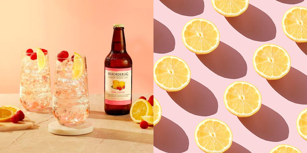 Rekorderlig's Pink Lemon Cider Is Basically Summer In A Bottle, And It Looks Delicious!