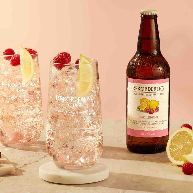 rekorderlig pink lemon cider