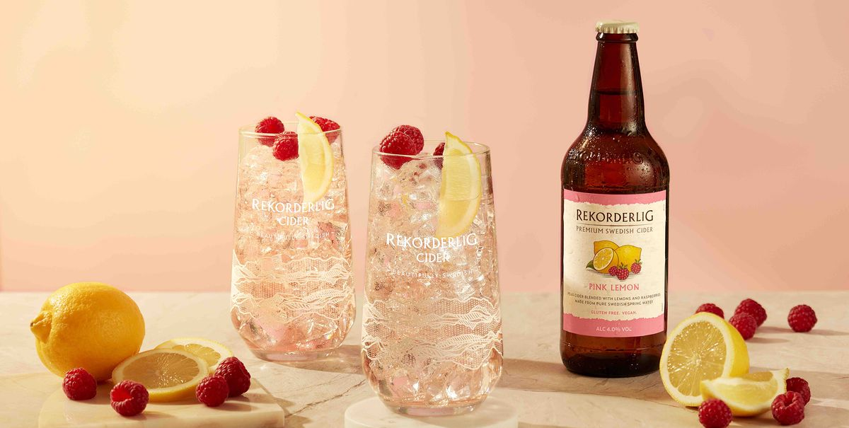 Rekorderlig's new Pink Lemon Cider sounds so perfect for spring and summer sipping