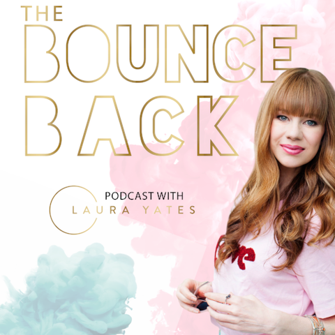 the bounce back podcast logo   relationship podcasts