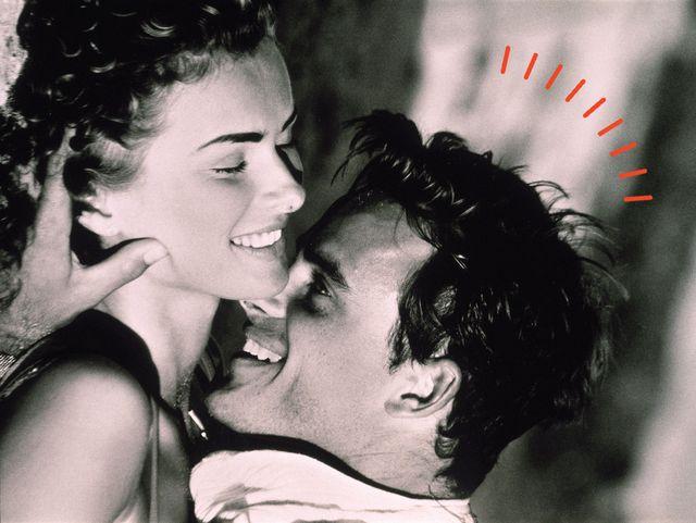 coppia in intimità che sorride