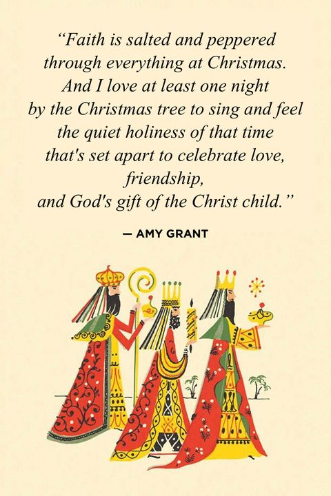 Amy Grant Religious Christmas Quotes