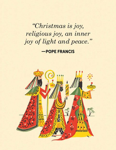 religious christmas quotes Pope Francis