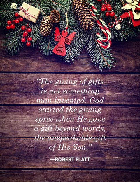 religious christmas quotes Robert Flatt