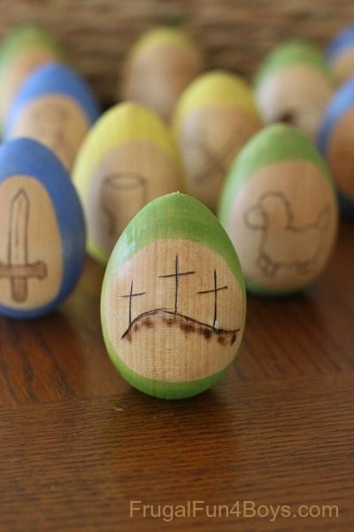 religious easter crafts resurrection eggs