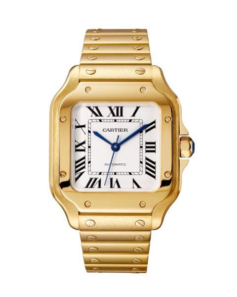 reloj cartier santos de cartier, tamaño grande, automático, 39,8 mm 34500 €