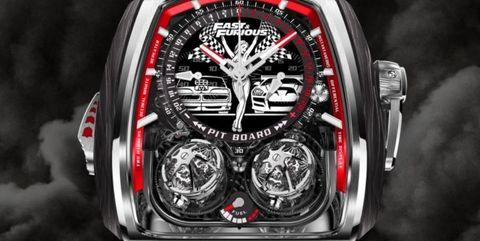 reloj fast furious