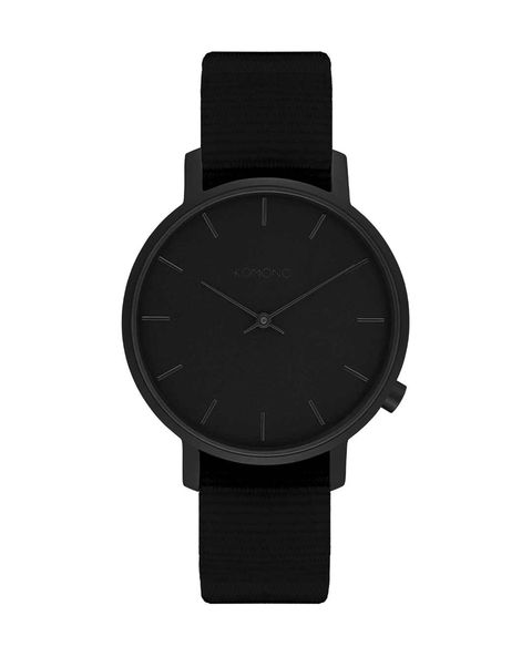 reloj komono negro