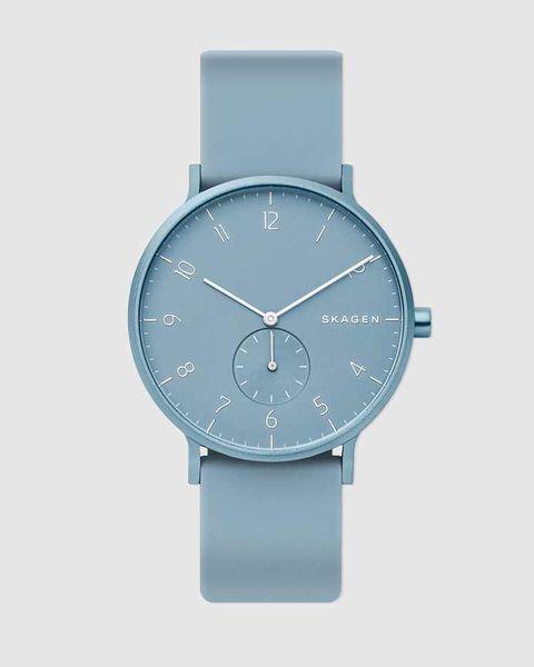 reloj skagen azul claro