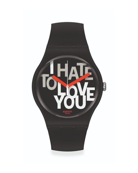 reloj swatch hombre mujer san valentin