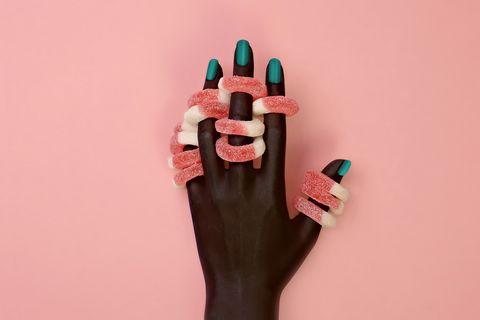 Endurecedor de uñas tras la manicura permanente