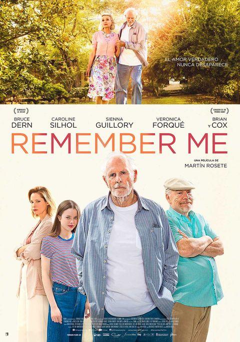 "Cartel de ""Remember Me"""