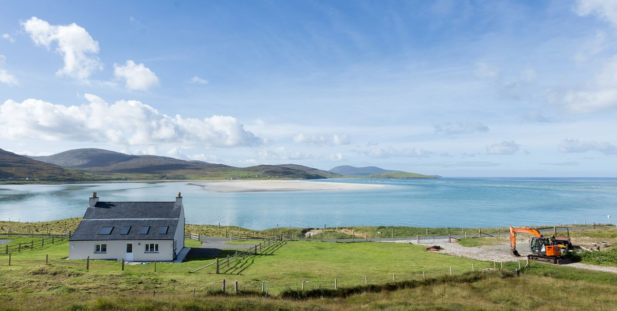 Need a fresh start? An idyllic cottage is for sale on the remote island of Harris in Scotland