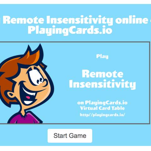 remote insensitivity best online games online group games