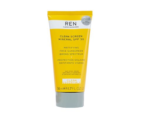 Sustainable travel - REN mineral sunscreen