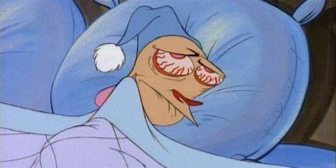Animated cartoon, Cartoon, Nose, Forehead, Animation, Fictional character, Anime, Mouth, Art, Sleep,