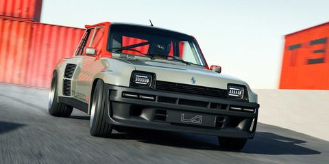 renault 5 turbo 3 by legende automobiles