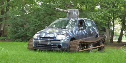 renault clio tanque