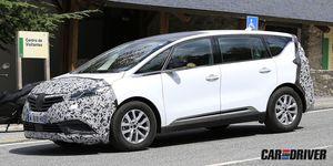 Nuevo Renault Espace cazado