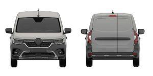 Renault Kangoo 2020 - frontal y trasera