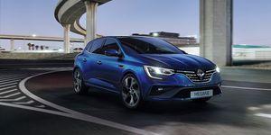 Renault Mégane 2020 - frontal