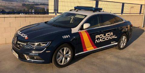 Renault Talisman de la Policía Nacional