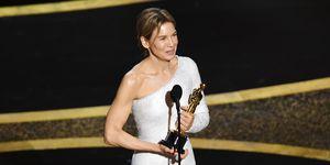Renée Zellweger wint de Oscar voor Beste Actrice bij de Academy Awards 2020