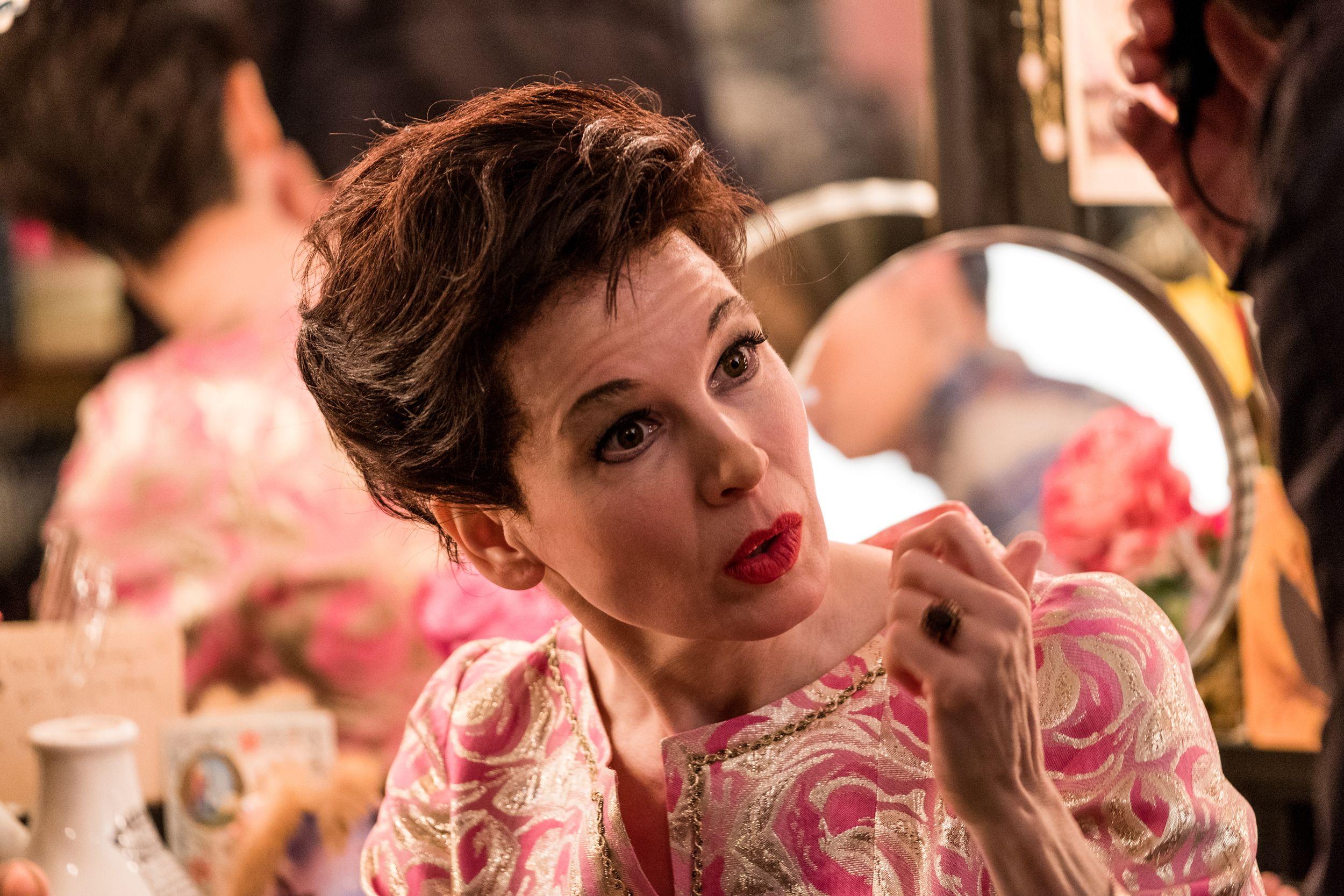 Renée Zellweger as Judy Garland in the upcoming film JUDY .