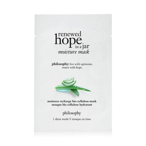 Renewed Hope in a jar moisture mask van Philosophy