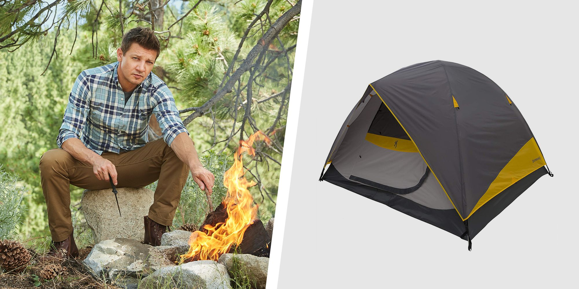 Jeremy Renner Shares His 10 Favorite Outdoor Essentials You Can Buy on Amazon
