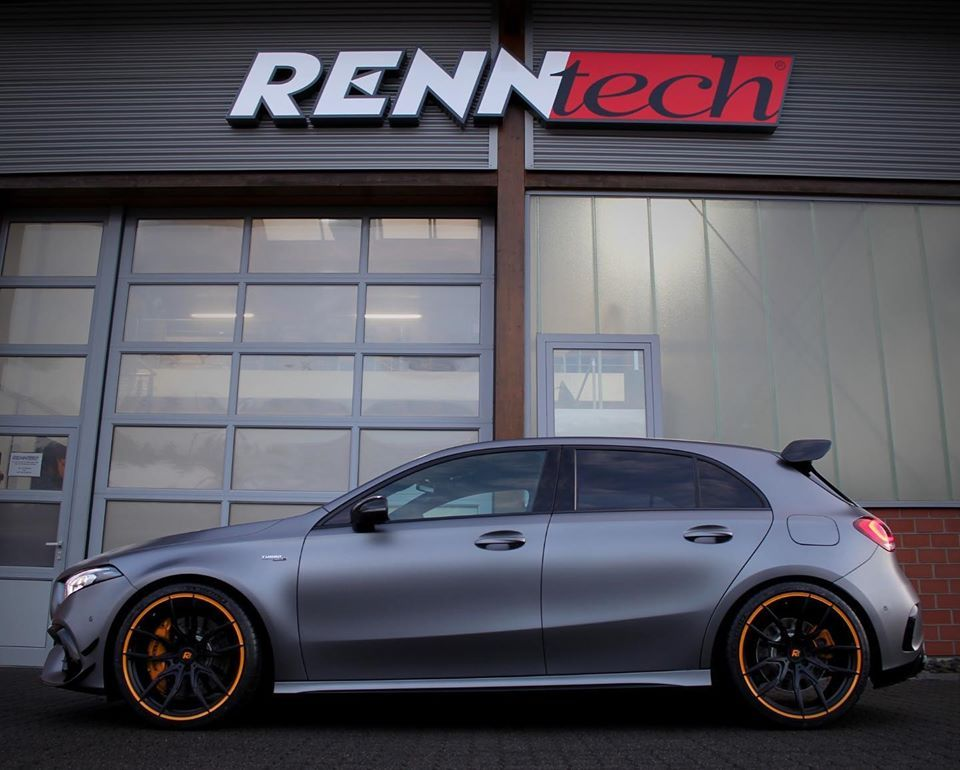 Renntech's 592-HP Tuning Package Pushes the Mercedes-AMG A45 Into Supercar Territory