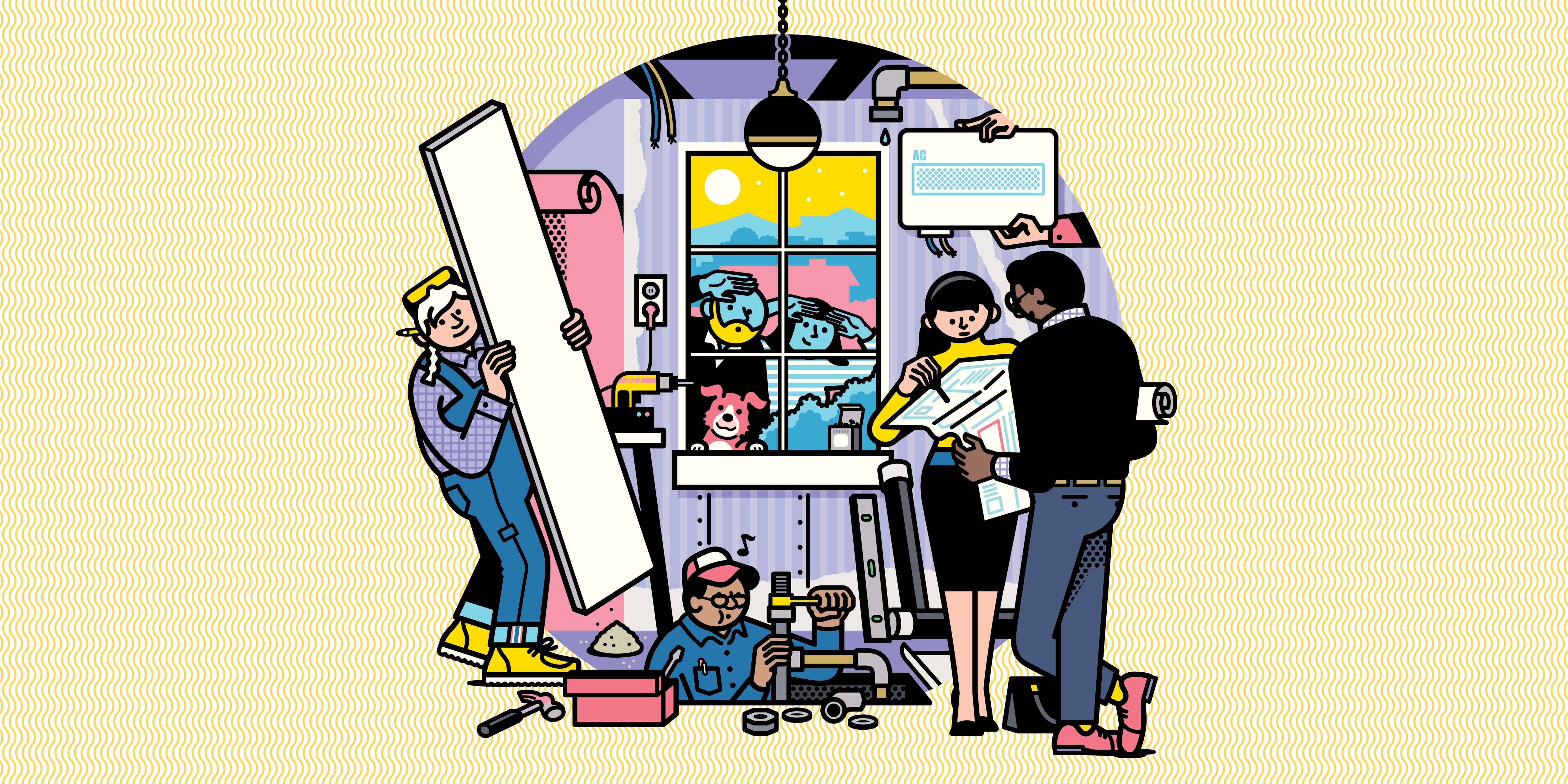 14 Pro Tips for a Stress-free Renovation