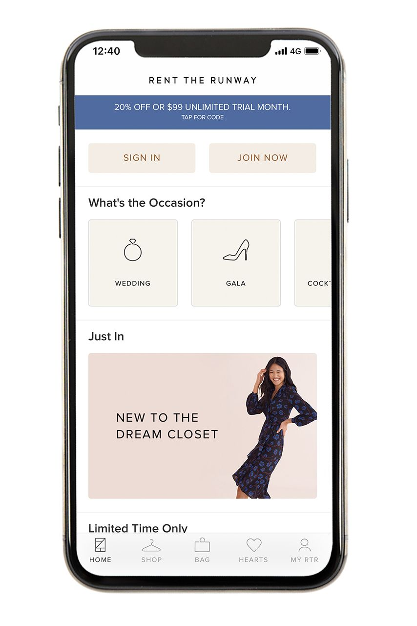 Rent the Runway - Best Clothing Apps