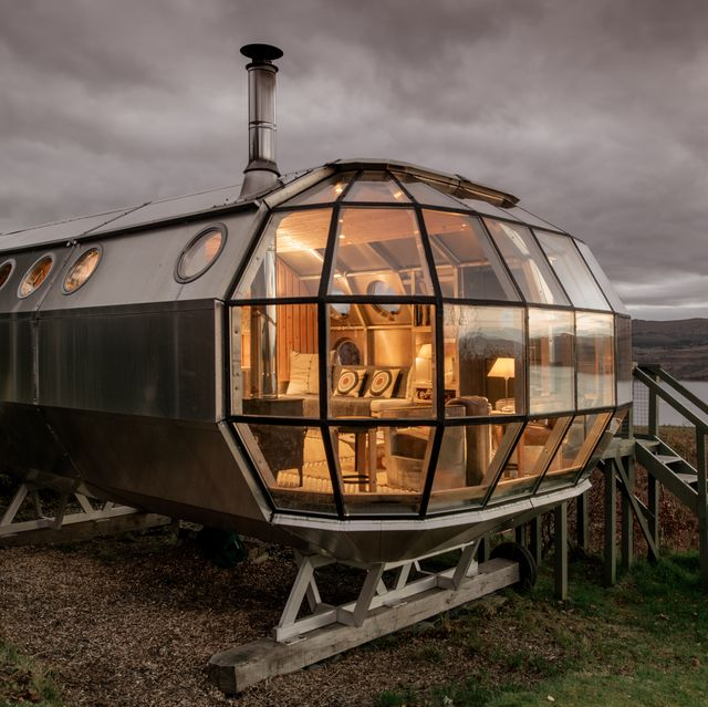 you can now rent this airship in the scottish highlands via airbnb
