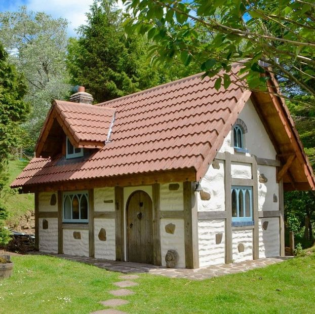 you can stay in this magical snow white cottage in swansea