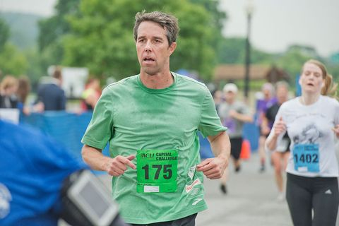 Despite Trying Conditions, Beto O'Rourke Is Still Running