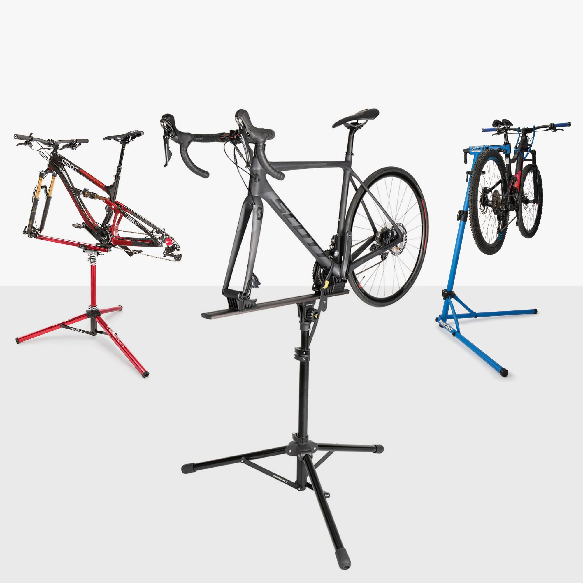 Bike Bicycle Maintenance Mechanic Repair Tool Rack Work Park Stand Holder Charm