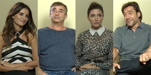 Penélope Cruz, Eduard Fernández, Barbara Lennie, Javier Bardem entrevista 'Todos lo saben'