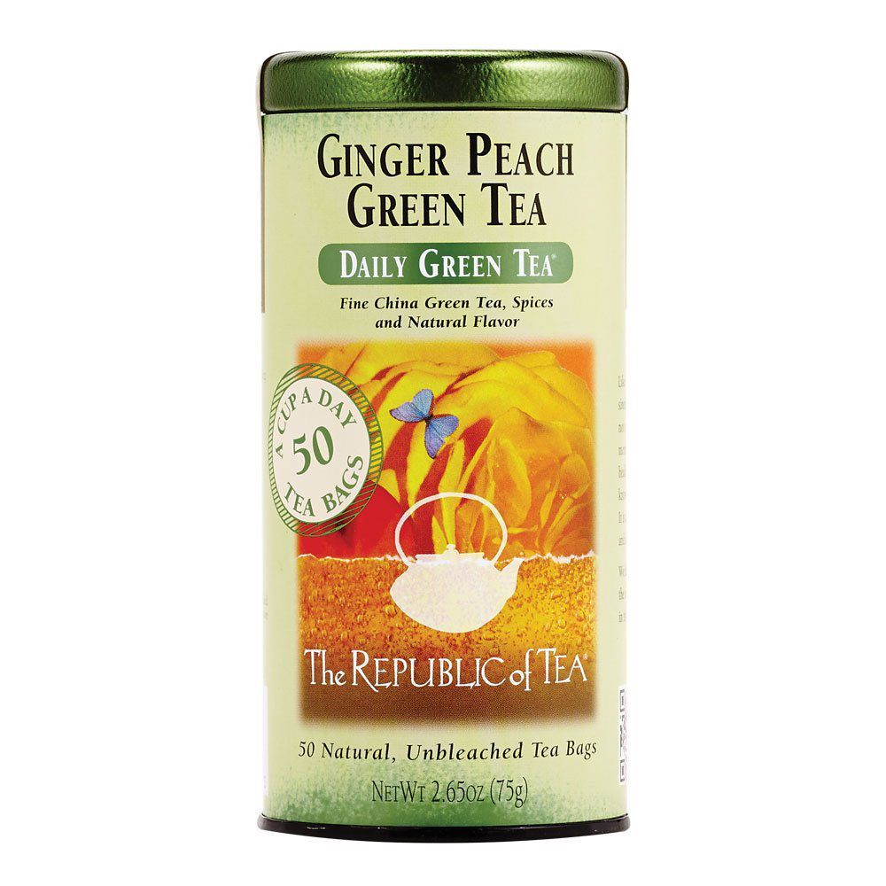 Republic of Tea Ginger Peach Green Tea