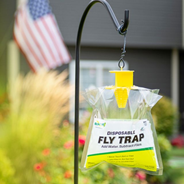 rescue outdoor disposable fly trap