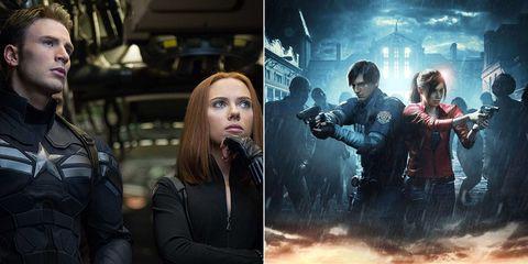 Resident Evil Chris Evans Scarlett Johansson