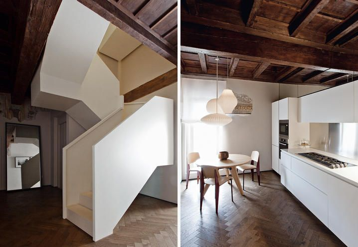 An historical building turned into design loft in Mantua