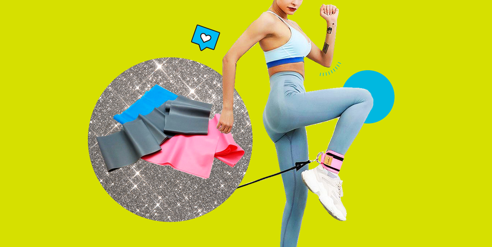 The Best Resistance Bands to Tone Your Booty, Legs, and Arms at Home